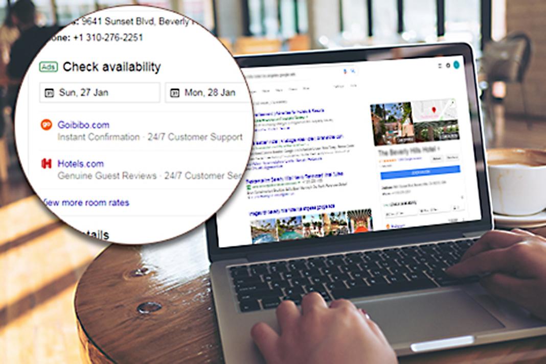 ads google hotel